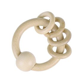 Heimess – Touch Ring w. 4 Rings – Natural Wood