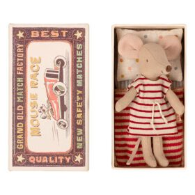 Maileg – Big Sister – Mouse in Matchbox