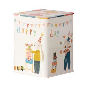 Maileg – Happy Birthday Box – Metall Geschenkbox