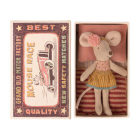 Maileg – Little Sister – Mouse in Matchbox