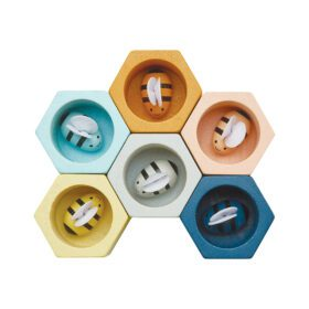 Plan Toys – Beehives – Orchard Collection