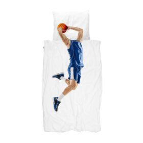 Snurk – Duvet Cover Set – Basketball Star Blue