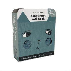 Wee Gallery – Baby's Eerste Zachte Boekje – Soft Faces Tuin
