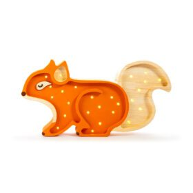 Little Lights – Night Light – Squirrel – Ginger Wood