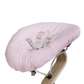 Nomi – Highchair – Baby Mattress – Pale Pink/Sand