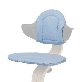 Nomi – Highchair – Cushion – Pale Blue/Sand