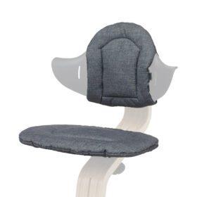 Nomi – Highchair – Cushion – Dark Grey/Sand