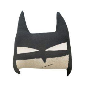 Woolable – Edgar Plans Kids Wool Cushion – BatBoy – 30 x 35 cm