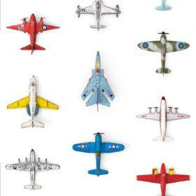 Studio Ditte – Wallpaper Kids Room – Airplanes