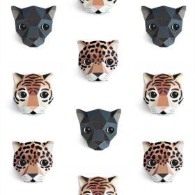 Studio Ditte – Wallpaper Kids Room – Panthera