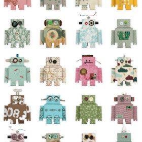 Studio Ditte – Wallpaper Kids Room – Robot