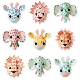 Studio Ditte – Wallpaper Kids Room – Wild Animals Sweet