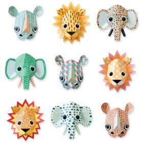 Studio Ditte – Wallpaper Kids Room – Wild Animals Cool
