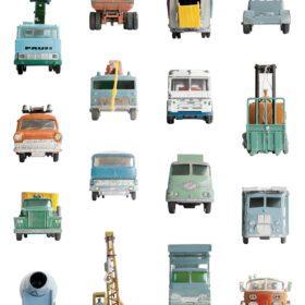 Studio Ditte – Wallpaper Kids Room – Work Vehicles