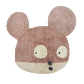 Woolable – Edgar Plans Wollteppich – Miss Mighty Mouse – 100 x 120 cm