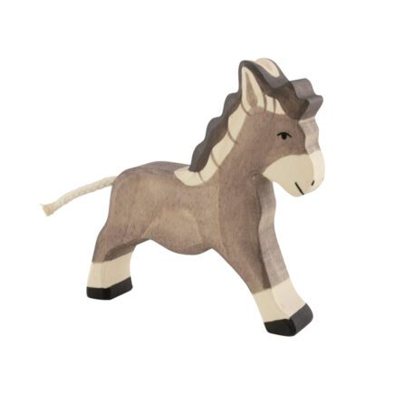 holztiger-wooden-animals-donkey-running