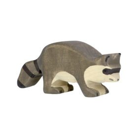 Holztiger – Wooden Animals – Racoon