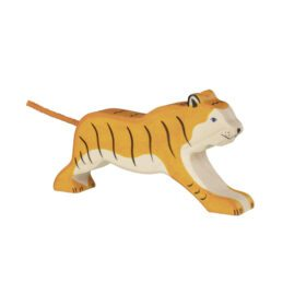 Holztiger – Wooden Animals – Tiger, Running