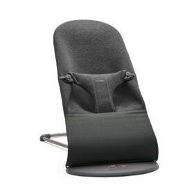 BabyBjörn – Wipstoeltje Bliss – Donkergrijs Frame – 3D Jersey – Charcoal Grey