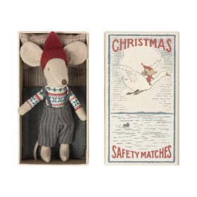 Maileg –  Christmas Mouse in Matchbox – Big Brother