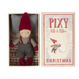 Maileg – Pixy Elf in Matchbox